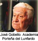 Jos Gobello Academia Portea del Lunfardo