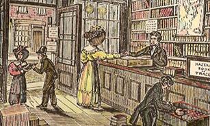 Librería antigua