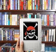 Piratas en la librería pirateria digital
