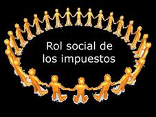 Rol social de los impuestos